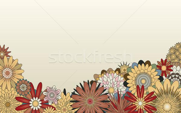 花 フォアグラウンド ベクトル ジェネリック ストックフォト © Tawng
