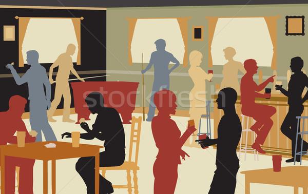 Pub leven eps8 vector Stockfoto © Tawng