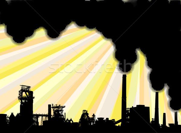 Industrial smoke Stock photo © Tawng