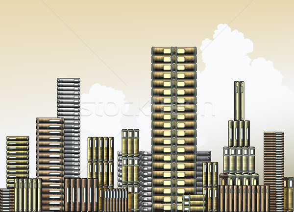 Book city Stock photo © Tawng