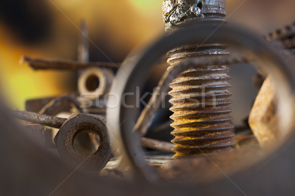 Nuts and bolt Stock photo © Tawng