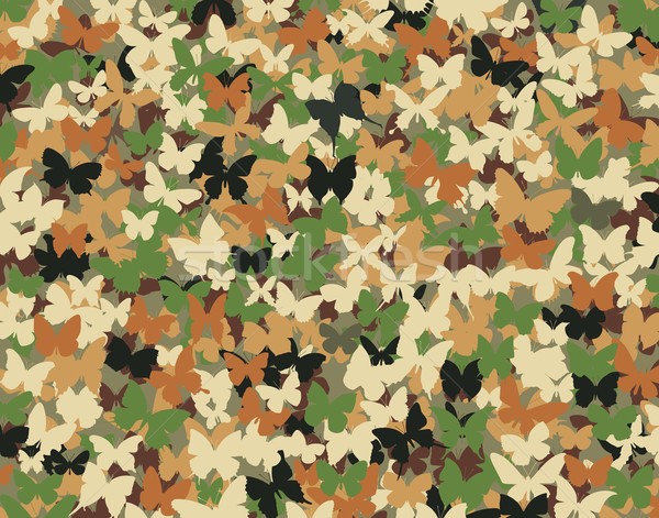 Butterfly camouflage Stock photo © Tawng
