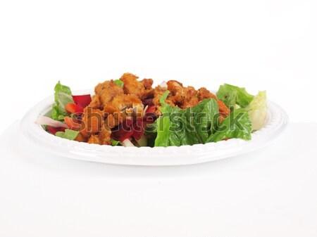 chicken in salad 2 Stock photo © tdoes