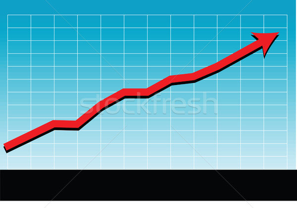 sales success chart vector Stock photo © tdoes