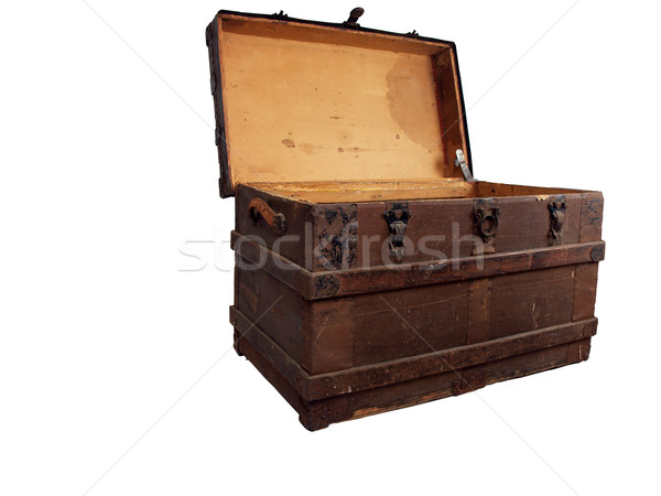 antique chest 1 Stock photo © tdoes