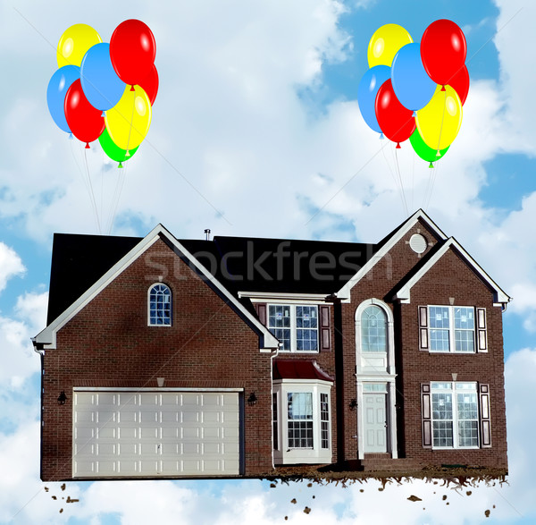 Renaissance photo ballons maison Photo stock © tdoes