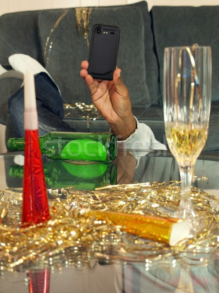 Yeni yıl instagram stil fotoğraf kutlama Stok fotoğraf © tdoes