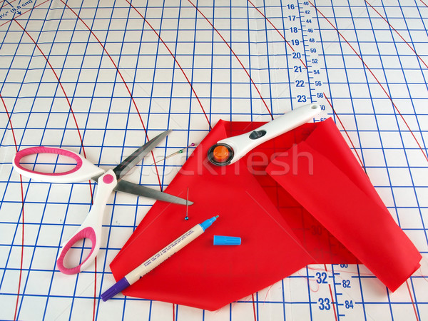 Outils sur mesure vêtements Photo stock © tdoes