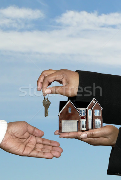 real estate - home sale 3 Stock photo © tdoes