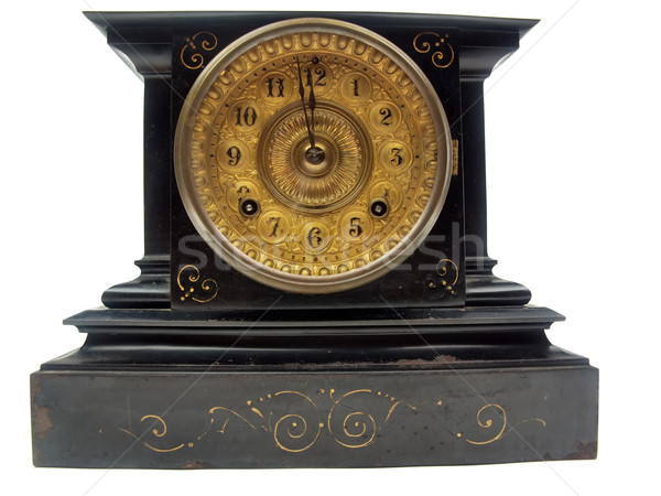antique mantle clock Stock photo © tdoes
