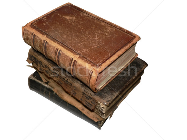 antique books 2 Stock photo © tdoes