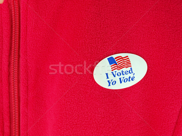 I voted sticker Stock photo © tdoes