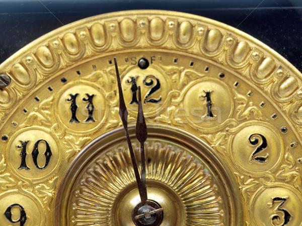 Antika saat eller dakika el Stok fotoğraf © tdoes