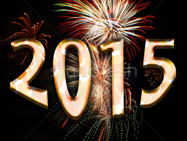 year 2015 Stock photo © tdoes