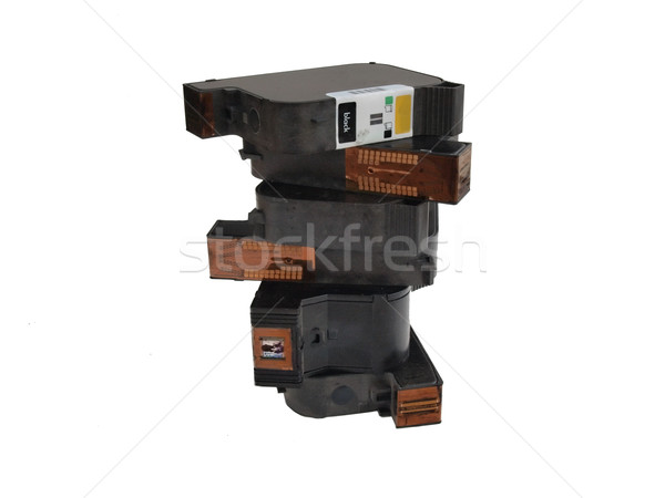 used ink cartridges 2 Stock photo © tdoes