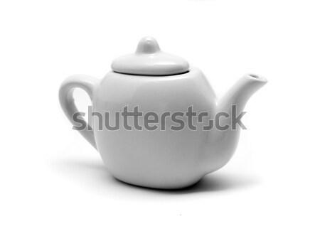 孤立した 白 ティーポット 光 ドリンク 茶 ストックフォト © TeamC