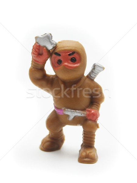 Brown Toy Ninja Stock photo © TeamC