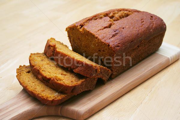 Dynia chleba bochenek deska do krojenia żywności Zdjęcia stock © TeamC