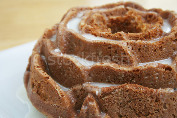 Stock photo: Lemon Poppy Seed Cake