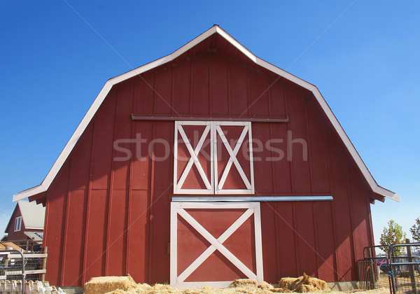 Red Barn Stock photo © TeamC