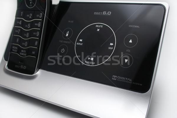 Modern Answering Machine Stock photo © TeamC