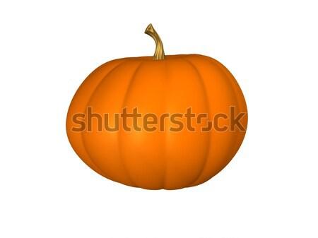 3D Pumpkin Stock photo © TeamC