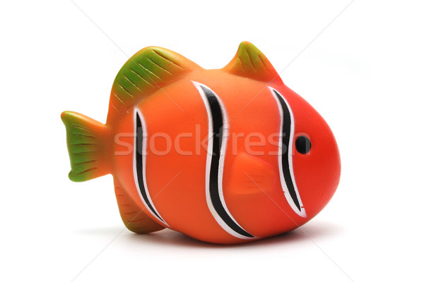Isolated Toy Clown Fish Stock photo © TeamC