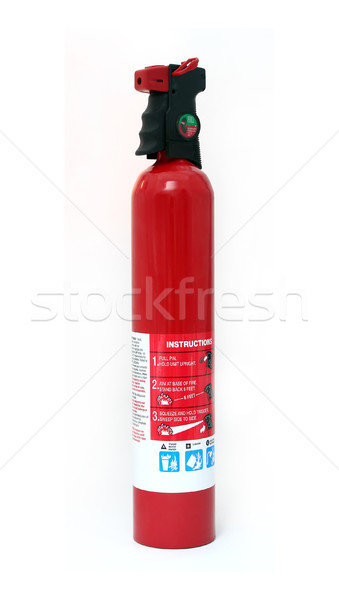 Isolated Fire Extinguisher Stock photo © TeamC
