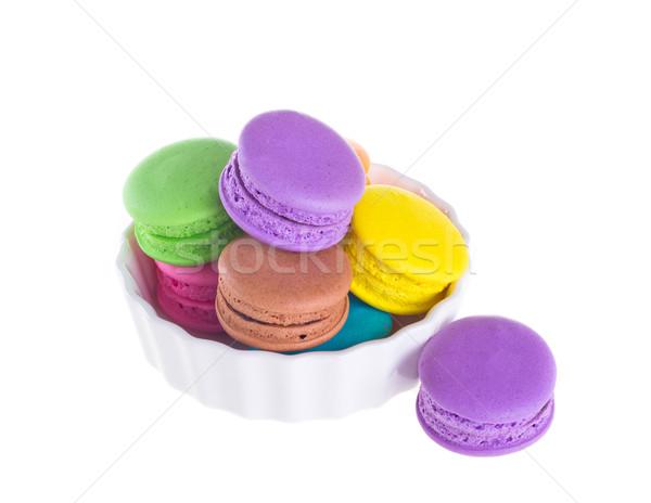 Photo stock: Coloré · isolé · blanche · couleur · sweet · France