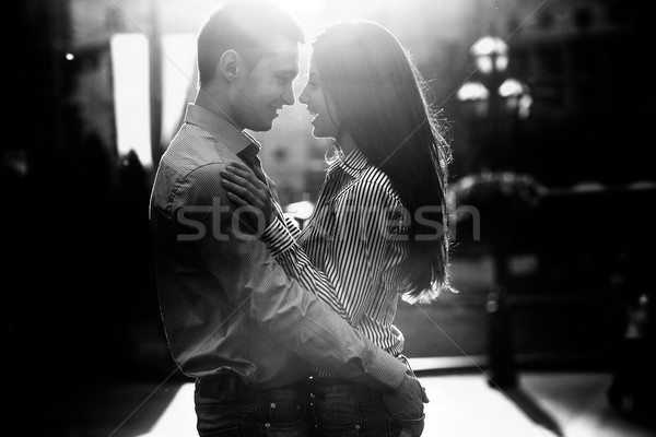 Couple  in the city Stock photo © tekso