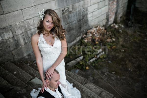 beautiful couple Stock photo © tekso