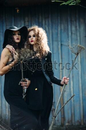 Paar ander man vrouw sluiten Stockfoto © tekso