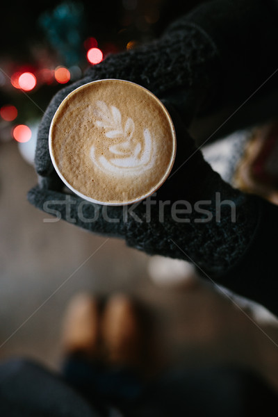 Coffee for you with love Stock photo © tekso