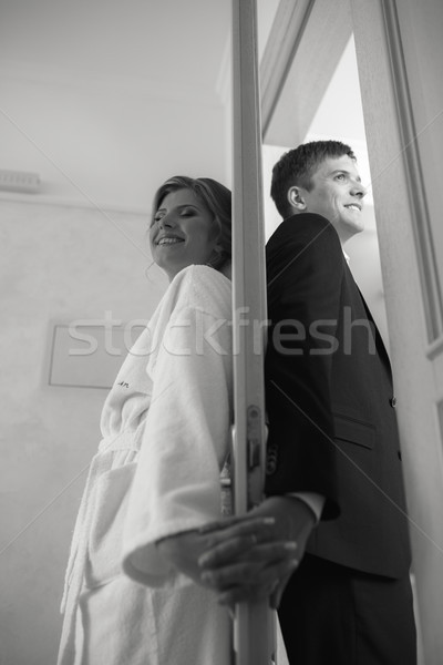 bride and groom Stock photo © tekso