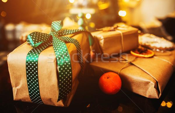 Beautiful themed gifts Stock photo © tekso