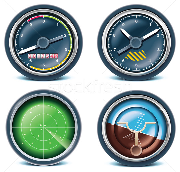 Travel and vacations icons. Part 5 Stock photo © tele52