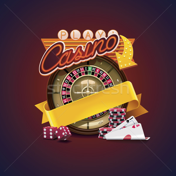 Vector casino icon Stock photo © tele52