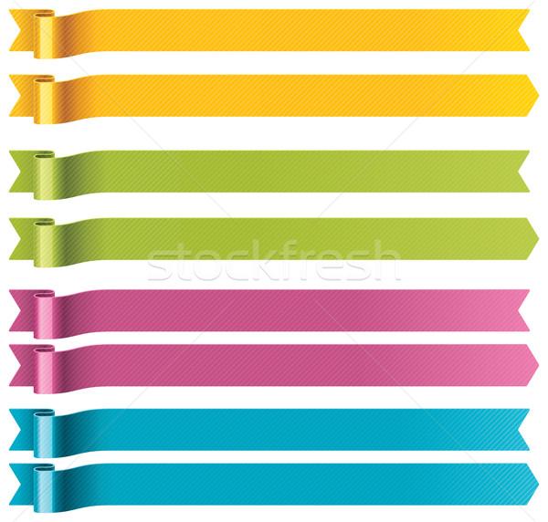 Photo stock: Vecteur · longtemps · lumineuses · quatre