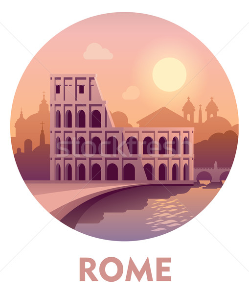 Travel destination Rome  Stock photo © tele52