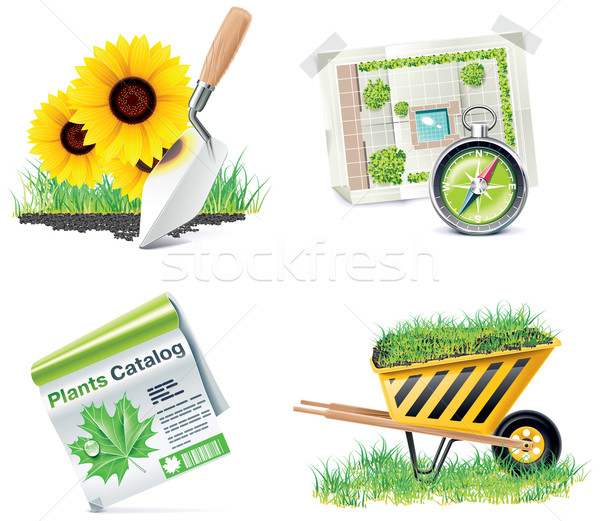 Stock photo: Vector Homebuilding & Renovating icon set. Part 5