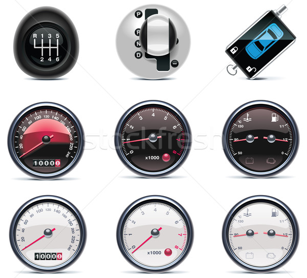 Car service icons. Part 4 Stock photo © tele52