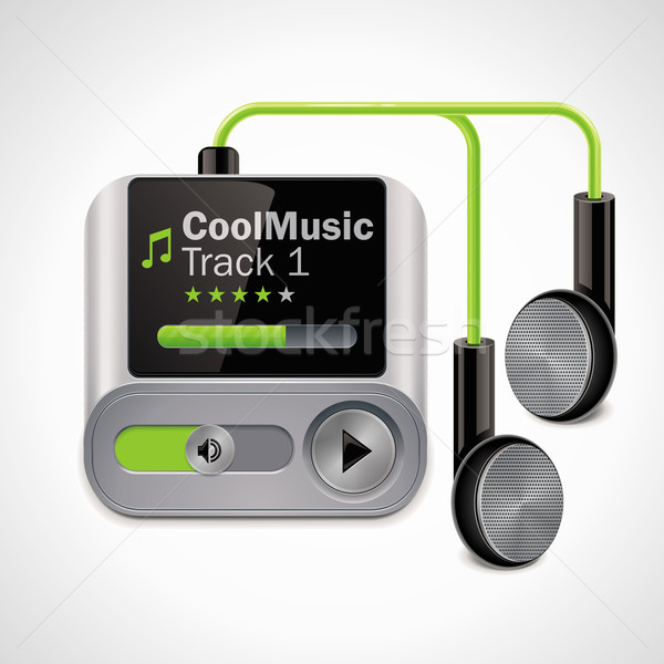 Vector mp3 player XXL icon	 Stock photo © tele52