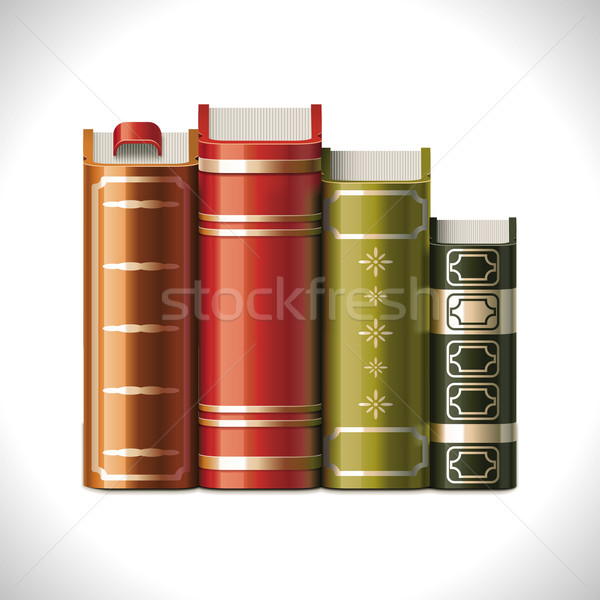 Vector books XXL icon Stock photo © tele52
