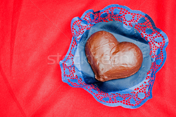 Valentines Day Chocolate Cake Stock photo © tepic