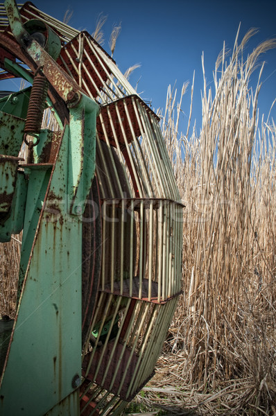 Rusty Harvester Stock photo © tepic