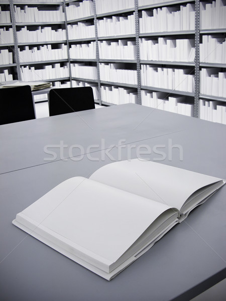 Blank Book Stock photo © tepic