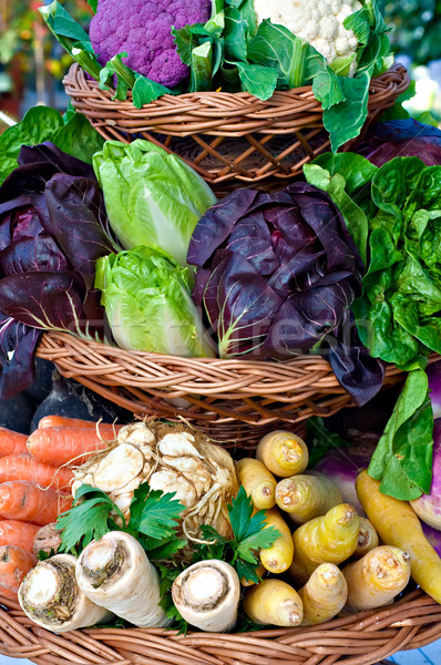 Arrangement with Vegetables Stock photo © tepic