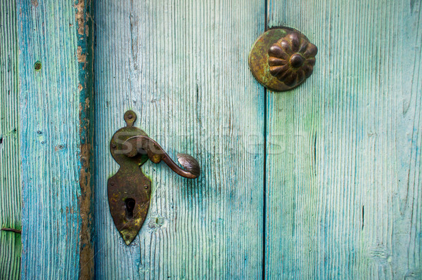 Detail of an old Door Stock photo © tepic