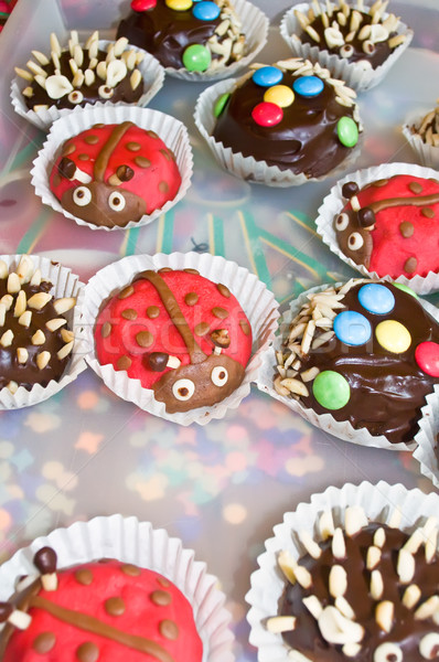 Cookies for a Childrens Birthday Stock photo © tepic