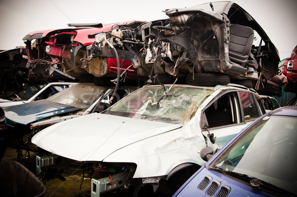 Crashed Cars Stock photo © tepic
